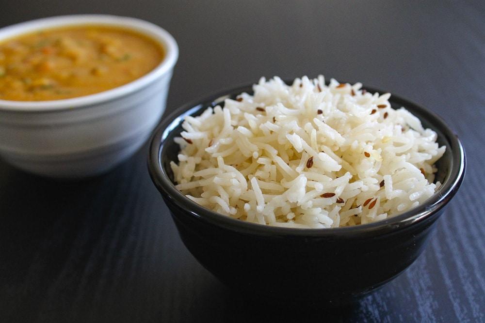 Jeera rice recipe (one pot, stove top method)