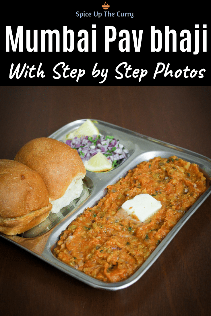 pav bhaji recipe pin