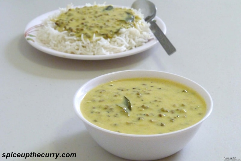 Khatta Moong (Whole Green Moong Dal)