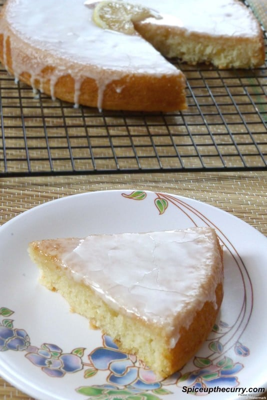 Eggless Lemon Cake Recipe | Lemon Yogurt cake Recipe