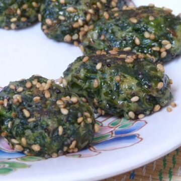 Palak-Methi Muthia Recipe