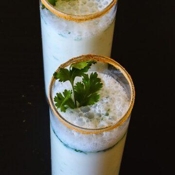 Masala chaas (Indian buttermilk)
