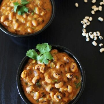 Black eyed peas curry recipe | Gujarati chawli curry | Lobia recipe