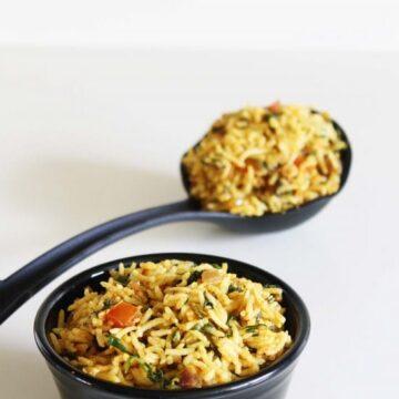Methi Rice Recipe | Methi pulao recipe | Fenugreek Leaves Rice