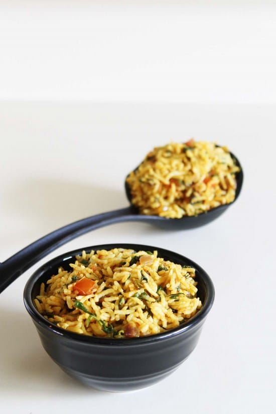 Methi Rice Recipe (Methi pulao)