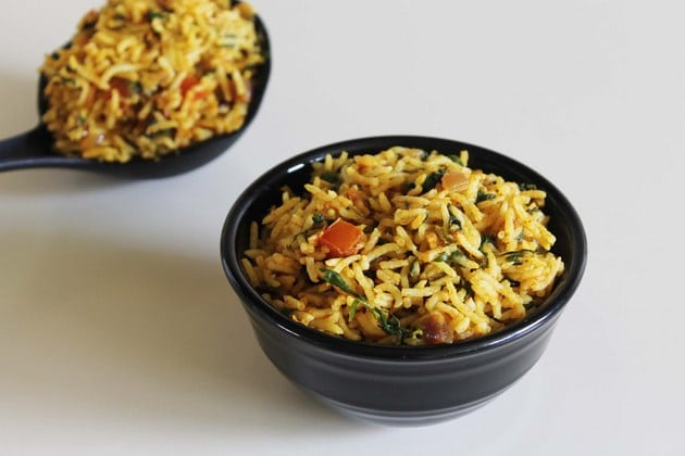 Methi Rice Recipe | Methi pulao recipe | Fenugreek Leaves Rice