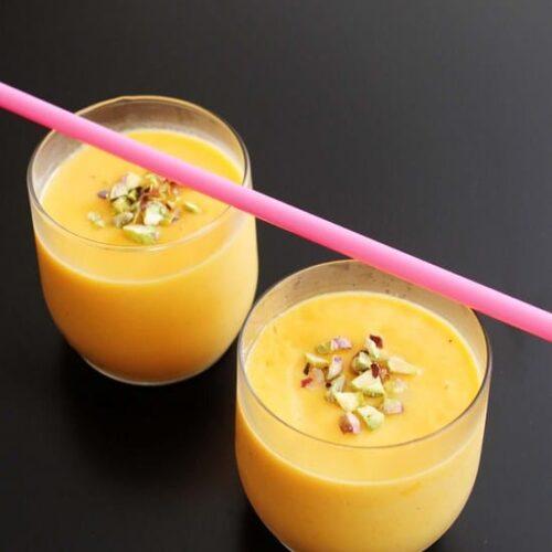 Mango Milkshake Recipe | Mango shake recipe | Milkshake recipes