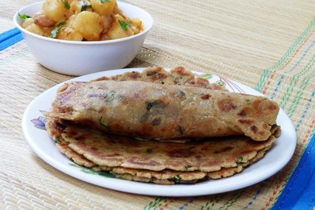 rajgira roti recipe (how to make rajgira paratha)