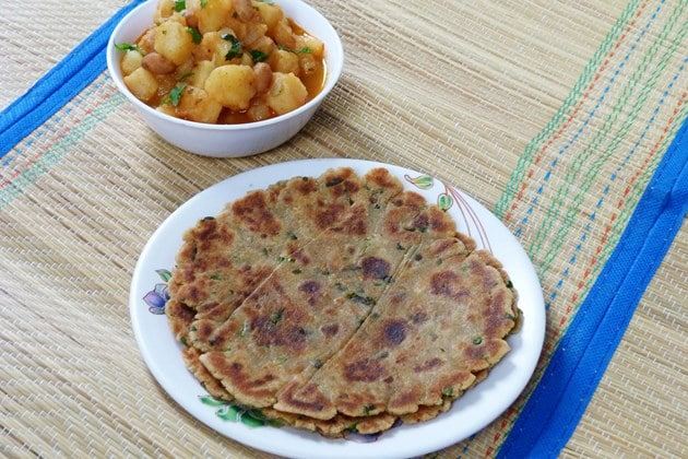 Rajgira paratha recipe | How to make rajgira paratha/roti