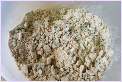 mix dough ingredients together