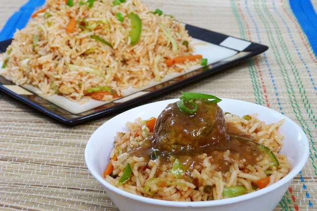 Schezwan Fried rice- indo-chinese recipe