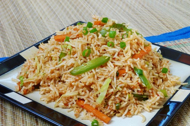 Schezwan Fried Rice – Indo Chinese Recipe
