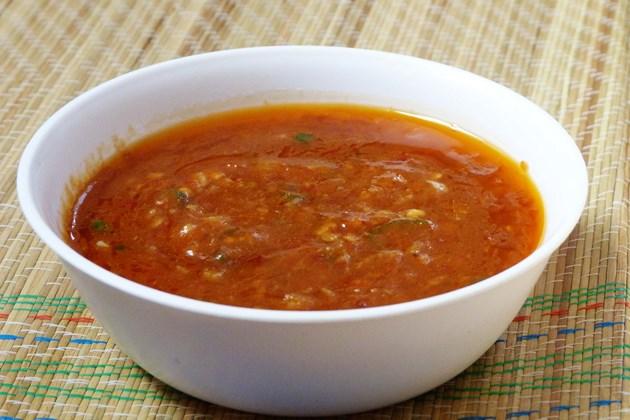 Schezwan Sauce Recipe - Indo-Chinese Recipe