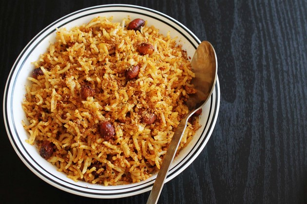 tamarind rice rice tamarind rice andhra making this rice is multi step ...