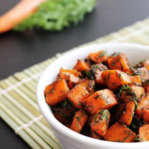 Gajar suva sabzi recipe (How to make gajar suva) Carrot with dill leaves