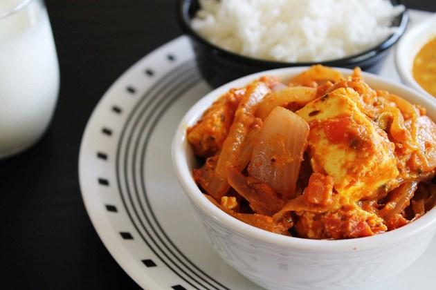Paneer do pyaza recipe (How to make paneer do pyaza, restaurant style)