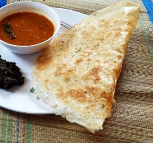 Rava Dosa Recipe - How to make crispy rava dosa - Instant semolina dosa