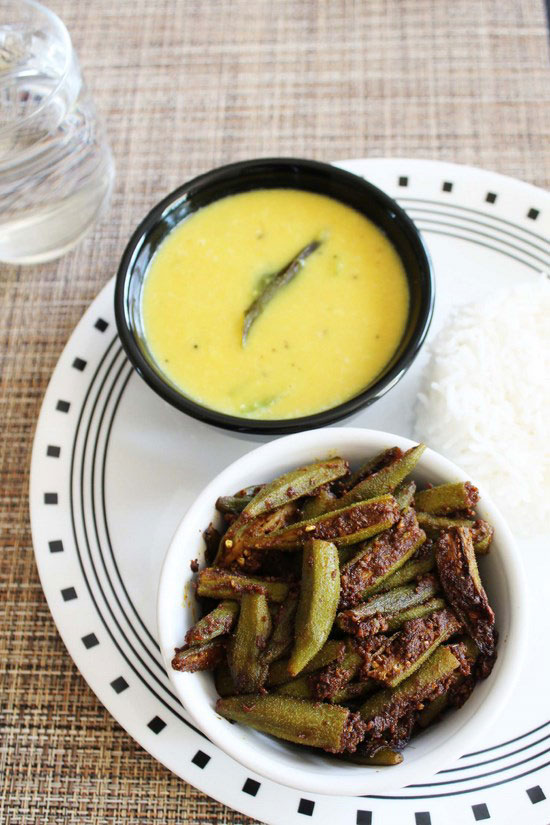 Bhindi Masala How To Make Bhindi Masala Bhindi Fry Recipe