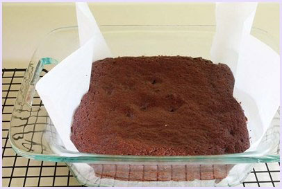 Eggless Brownies | Eggless Cocoa Brownie Recipe