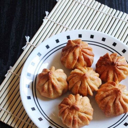 Fried Modak Recipe - How to make fried modak for Ganesh Chaturthi
