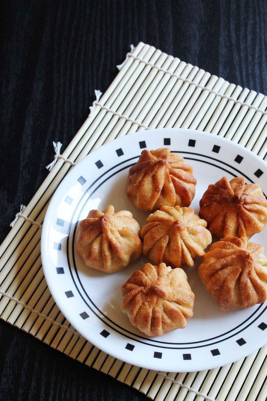 Fried Modak Recipe for Ganesh chaturthi