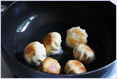 fried modak are almost ready