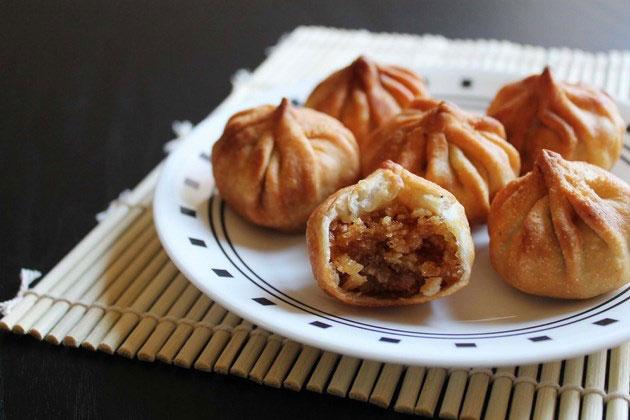 How to make fried modak for Ganesh Chaturthi