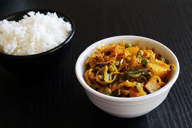 पत्ता गोभी की सब्ज़ी बनाने की विधि (कैबेज सब्ज़ी) Cabbage sabzi recipe in hindi