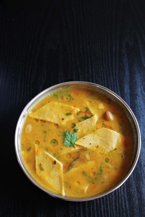 Gujarati Dal dhokli recipe