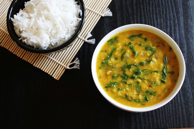 Dal Palak Recipe (How to make moong dal palak recipe), Palak dal