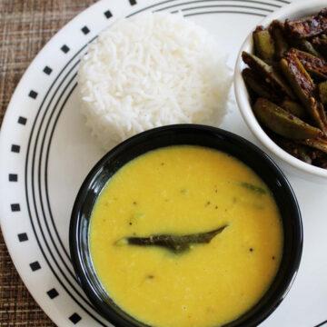 Goan Varan Recipe with coconut-Varan Bhaat
