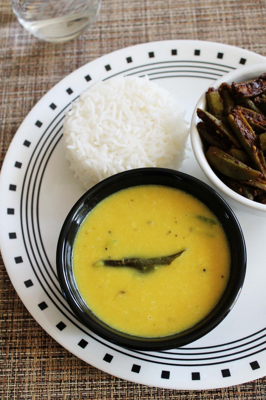 Goan Varan bhaat recipe (Varan recipe with coconut)