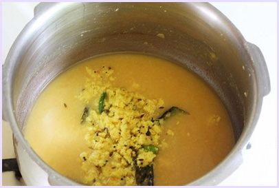 Goan Varan Recipe with coconut-Varan Bhaat