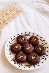 Chocolate Peda - Easy diwali sweet recipe