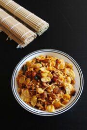 Cereal chivda recipe | Honey bunches of oats cereal chivda