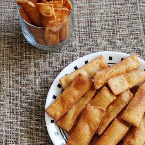 Namak pare recipe | How to make namak para | Easy snacks recipe