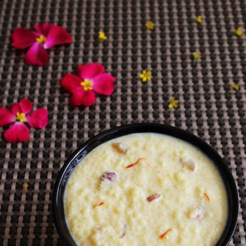 Vrat ke chawal ki kheer | Samvat rice kheer | Samak ki kheer