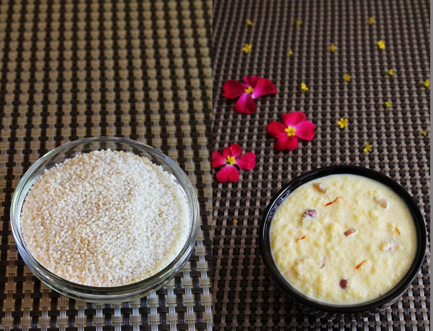 Vrat ke chawal ki kheer - Samvat rice kheer recipe - Fasting recipe