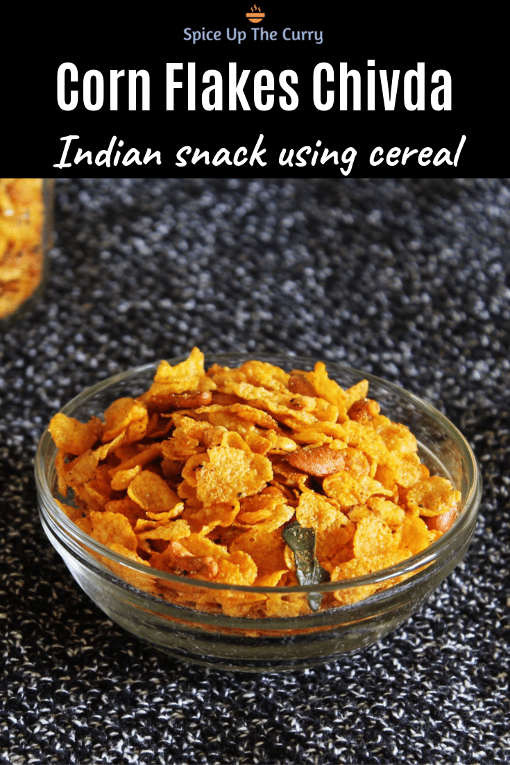 corn flakes chivda pin