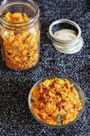 Corn flakes chivda namkeen (makai poha)