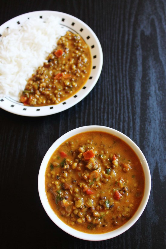 Whole green mung dal | Green Moong dal Recipe | Sabut moong dal curry