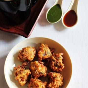Cabbage pakoda recipe | How to make cabbage pakora