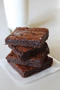 Eggless chocolate brownie recipe