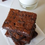 Eggless chocolate brownie recipe