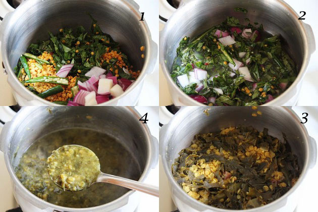Gongura Pappu | Andhra style sorrel leaves dal recipe