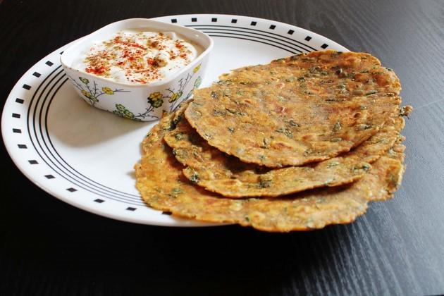 मेथी थेपला बनाने की विधि (Methi Thepla Recipe in Hindi), मेथी के थेपले