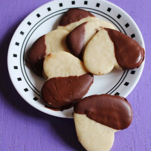 Shortbread Cookies Recipe|Easy eggless vanilla cookies