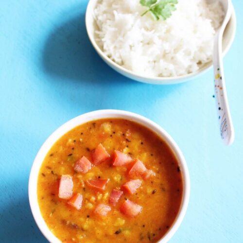 Tomato dal recipe   Tomato pappu   Andhra pappu recipe