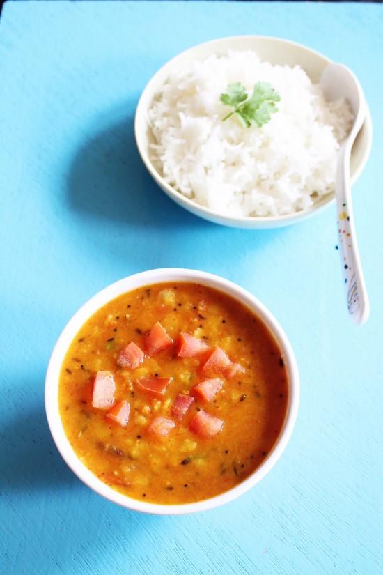 Tomato dal recipe (Andhra tomato pappu)