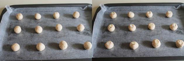 Eggless Almond Cookies recipe   How to make almond cookie recipe